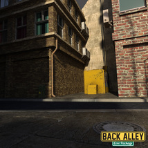 Back Alley Core Package for DS Iray image 8