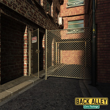 Back Alley Core Package for DS Iray image 9
