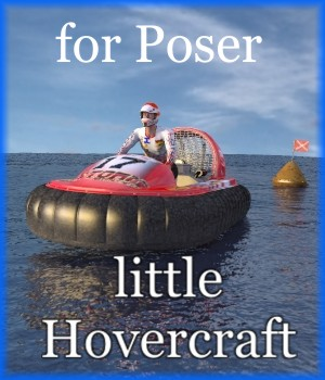 NM-Little hovercraft 3D Models mausel