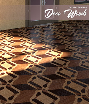 Daz Iray - Deco Wood 2D Graphics Merchant Resources Atenais