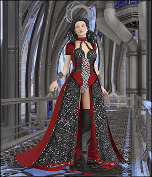 Asterella for the Genesis 2 Females 3D Figure Assets Moyra