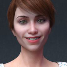Audrey for Genesis 8 Female image 1