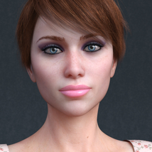 Audrey for Genesis 8 Female image 2