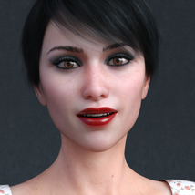 Audrey for Genesis 8 Female image 3