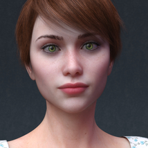 Audrey for Genesis 8 Female image 4