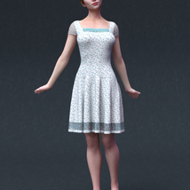 Audrey for Genesis 8 Female image 6