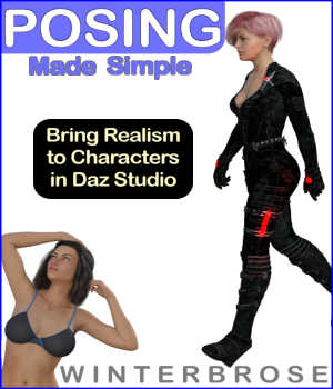 POSING Made Simple for Daz Studio 3D Figure Assets Tutorials : Learn 3D Winterbrose