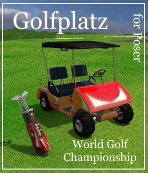 World Golf Championship 3D Models mausel