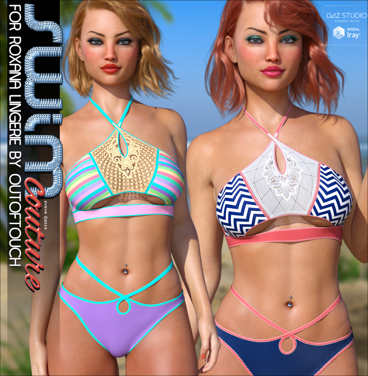 SWIM Couture for Roxana Lingerie G8F