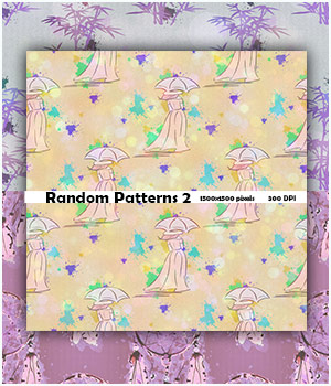 Seamless Random Patterns 2 2D Graphics Merchant Resources antje