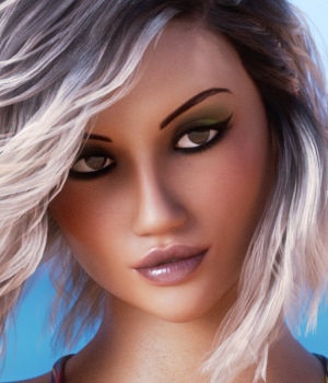 Sublimely Vexed Madeleine for Genesis 8 Female 3D Figure Assets 3DSublimeProductions