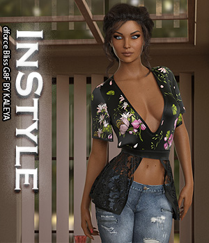 InStyle - dforce Bliss G8F 3D Figure Assets -Valkyrie-
