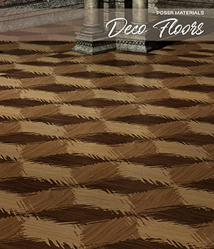 Poser - Deco Floors 2D Graphics Merchant Resources Atenais
