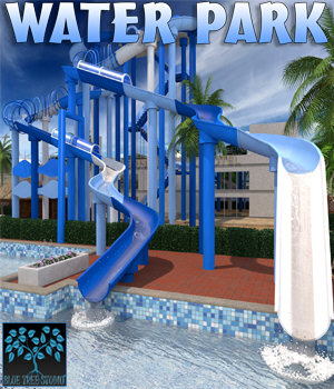 Water Park for Poser 3D Models BlueTreeStudio