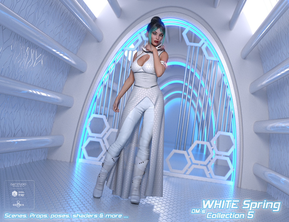 DMs WHITE Spring - Collection 5 by DM
