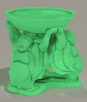 Buddha Oil Burner 3D Models darkprojectworks
