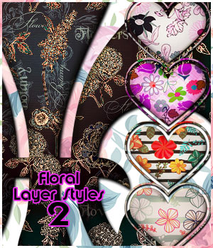 Floral Styles 2 2D Graphics antje
