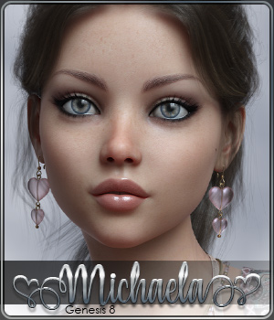 SASE Michaela for Genesis 8 3D Figure Assets Sabby