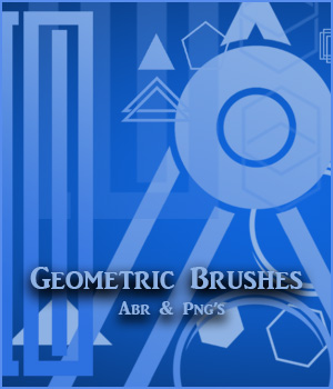 Geometric Brushes - PNGs 2D Graphics adarling97