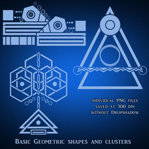 Geometric Brushes - PNGs image 5