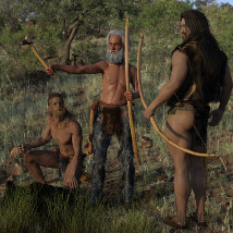 dForce Neolithic Outfits for Genesis 8 Male image 1