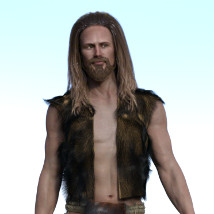 dForce Neolithic Outfits for Genesis 8 Male image 4