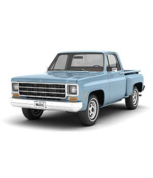 GENERIC STEP SIDE PICKUP TRUCK 10 - Extended License 3D Game Models : OBJ : FBX 3D Models Extended Licenses nnavas