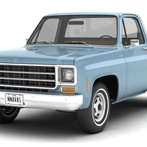 GENERIC STEP SIDE PICKUP TRUCK 10 - Extended License image 1