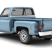 GENERIC STEP SIDE PICKUP TRUCK 10 - Extended License image 2