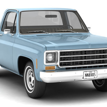 GENERIC STEP SIDE PICKUP TRUCK 10 - Extended License image 3