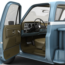 GENERIC STEP SIDE PICKUP TRUCK 10 - Extended License image 6