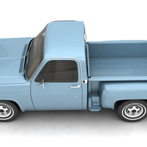 GENERIC STEP SIDE PICKUP TRUCK 10 - Extended License image 8