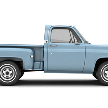 GENERIC STEP SIDE PICKUP TRUCK 10 - Extended License image 9