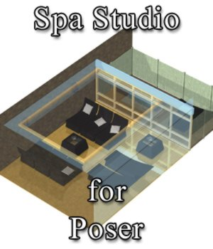 Spa Studio for Poser 3D Models VanishingPoint