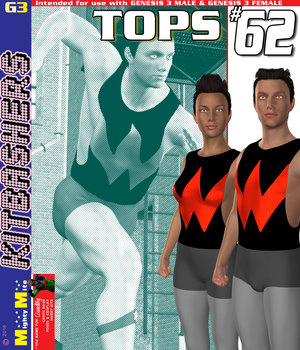 Tops 062 MMKBG3 3D Figure Assets MightyMite