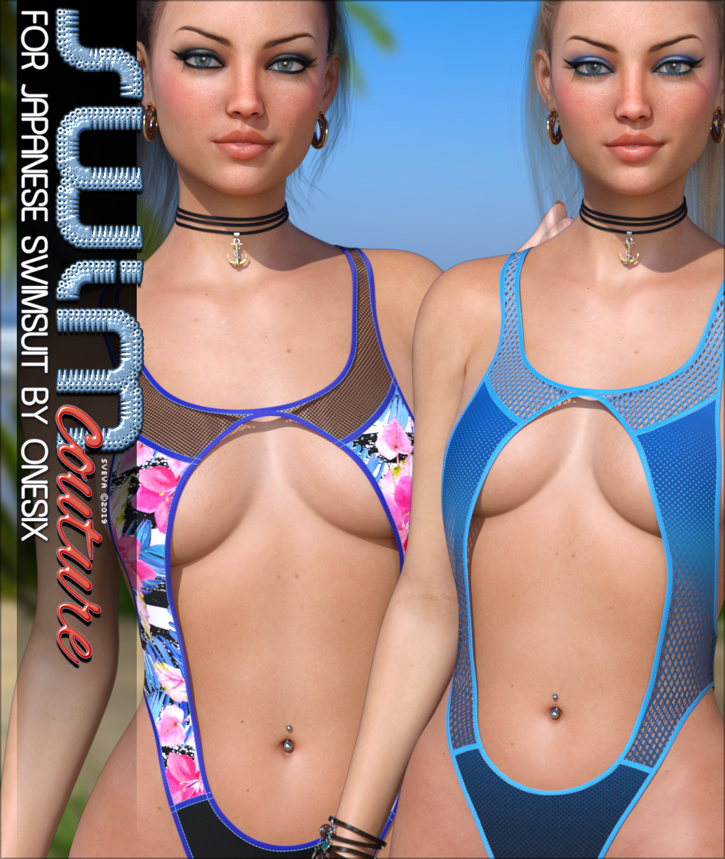 SWIM Couture for Japanese Swimsuit G8F