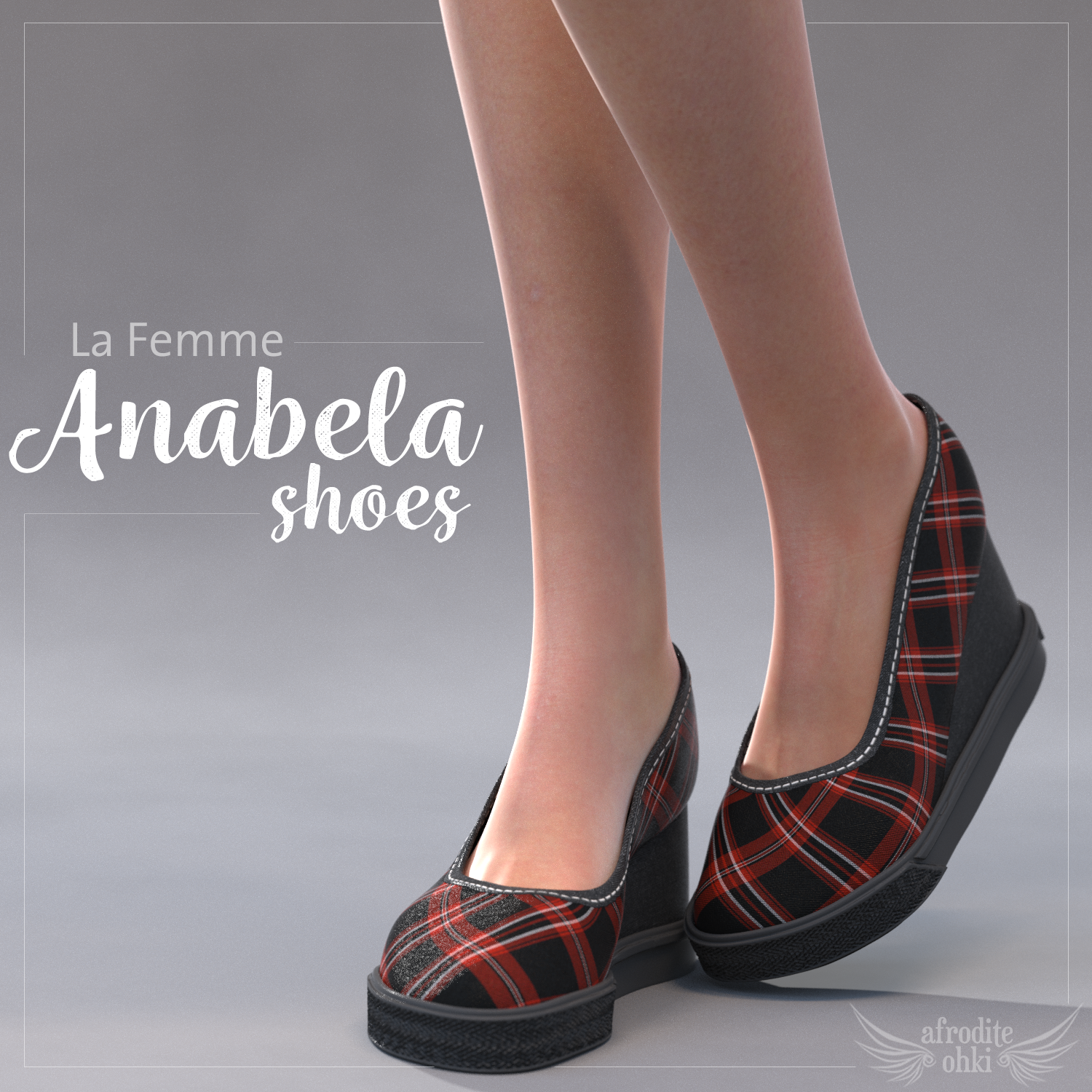 Anabela Shoes for La Femme by Afrodite-Ohki