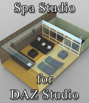 Spa Studio for DAZ Studio 3D Models VanishingPoint