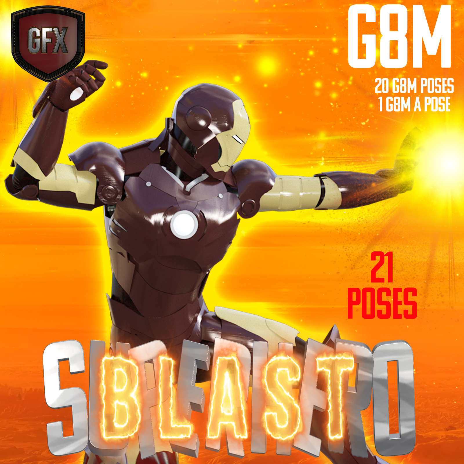 SuperHero Blast for G8M Volume 1 by GriffinFX