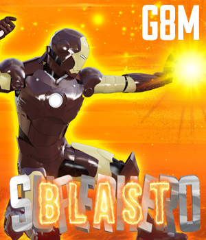 SuperHero Blast for G8M Volume 1 3D Figure Assets GriffinFX