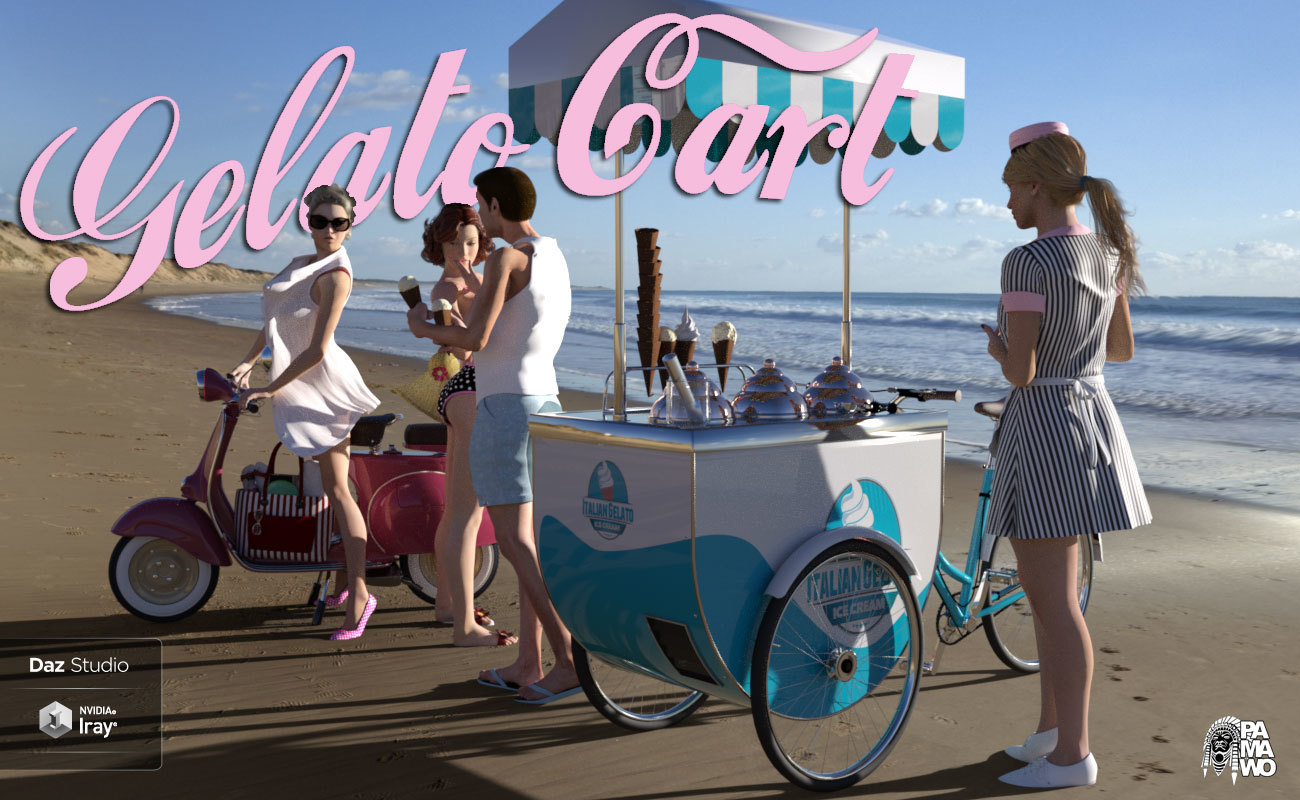 Gelato Cart For DS