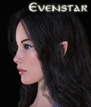 Evenstar for Genesis 8 Female 3D Figure Assets Sangriart