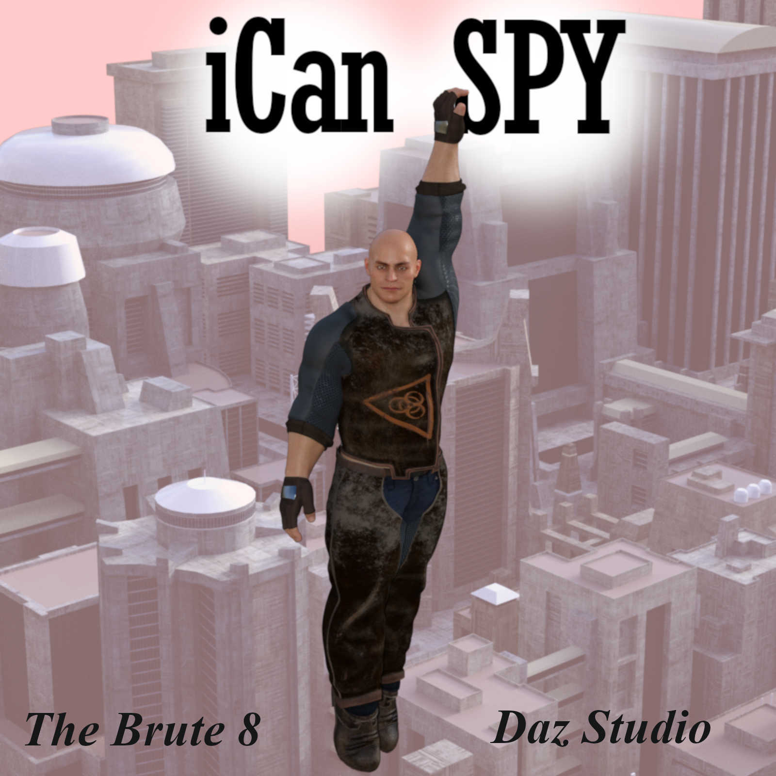 iCan SPY Poses for The Brute 8 (TB8) in Daz Studio