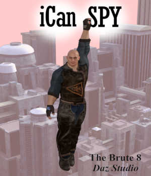 iCan SPY Poses for The Brute 8 (TB8) in Daz Studio 3D Figure Assets Winterbrose