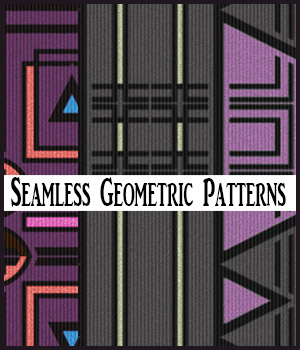 Seamless Geometric Patterns 2D Graphics Merchant Resources adarling97