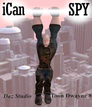 iCan SPY Poses for Toon Dwayne 8 in Daz Studio 3D Figure Assets Winterbrose