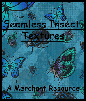 Seamless Insect Patterns 2D Graphics Merchant Resources adarling97