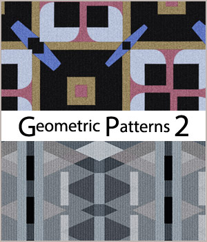 Seamless Geometric Patterns 2 2D Graphics Merchant Resources adarling97