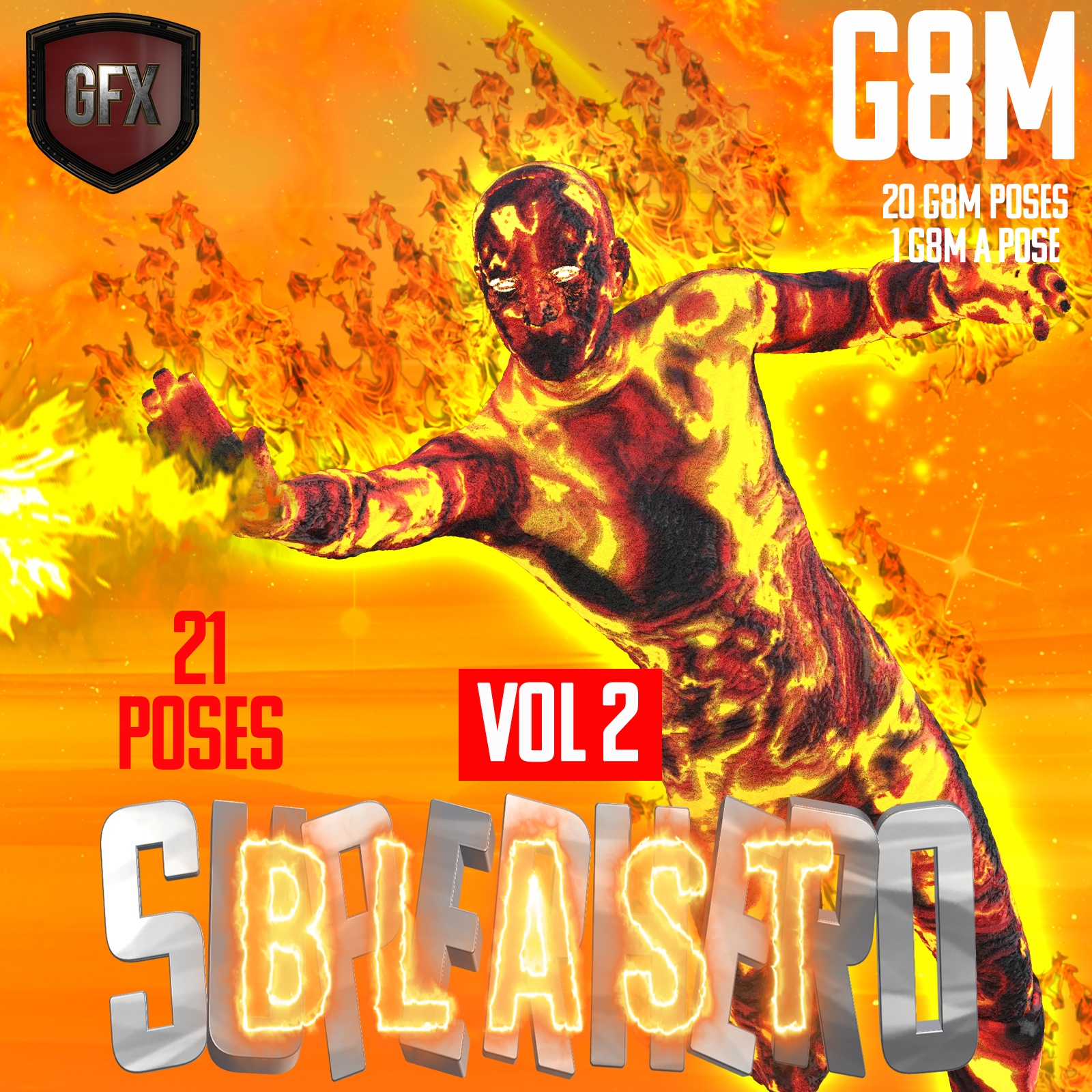 SuperHero Blast for G8M Volume 2 by GriffinFX