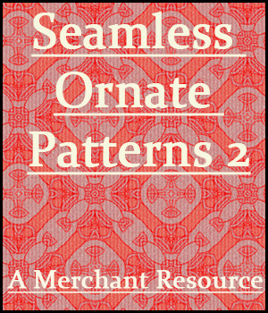 Seamless Ornate Patterns 2 2D Graphics Merchant Resources adarling97